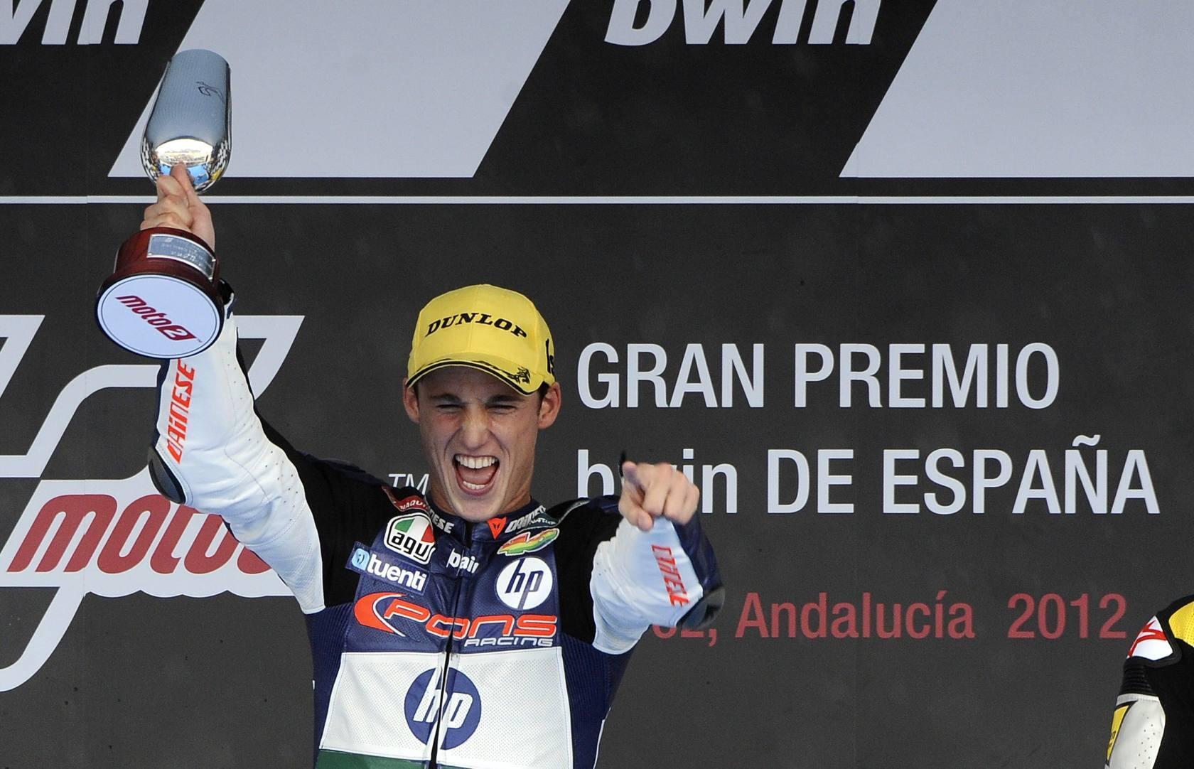 Espargaró (Kalex) gana en Moto2 el Gran Premio de España