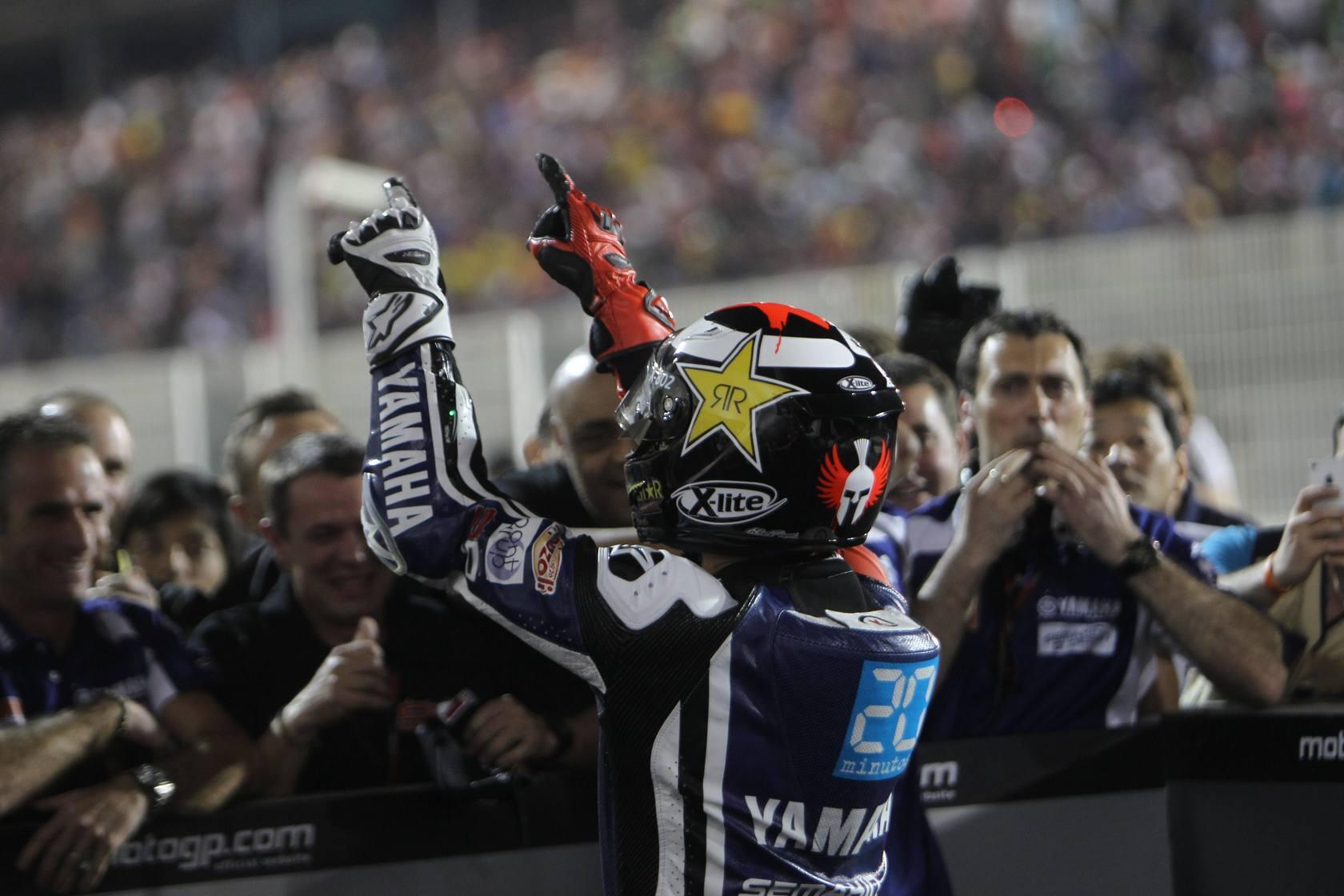 Lorenzo lidera un pleno de victorias españolas en Catar