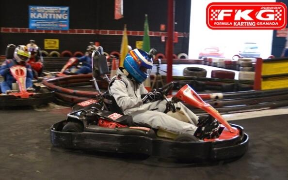 Supertanda de karting de 16 minutos + refresco