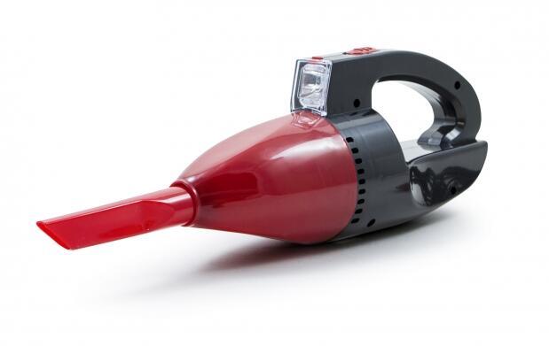 Aspirador de coche con linterna
