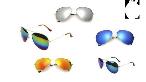 Pack de 5 Gafas Sol+ Funda Regalo