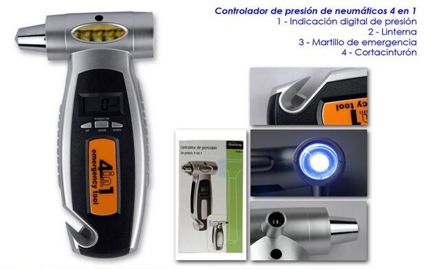 Controlador de presión 4 en 1