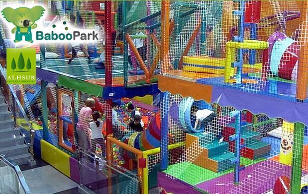 Bono 10 horas en parque de bolas infantil