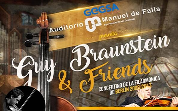 "Concierto ""Guy Braunstein & Friends"""
