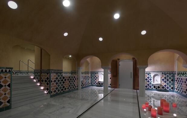 Pase Spa para 2 en Baños Árabes