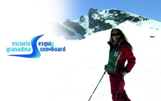 Clases de esquí y snow y/o material