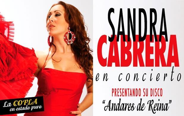 Copla: Sandra Cabrera en concierto