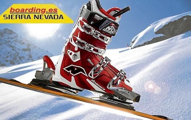 Alquiler de esquís o tabla por 15 euros