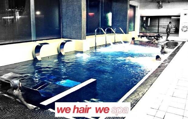 Circuito spa y masaje corporal completo