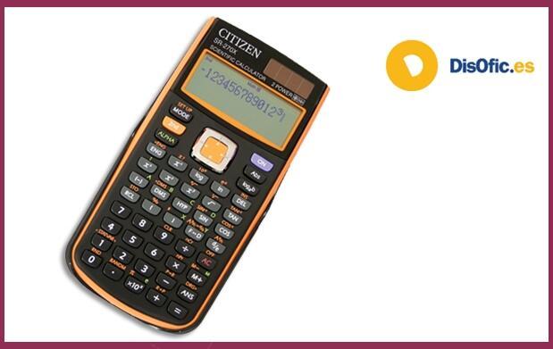 Calculadora programable Citizen