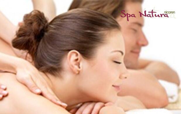 Masaje en pareja a 4 manos