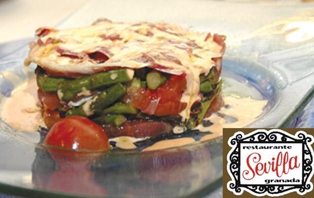 Restaurante Sevilla: menú para 2 por 28€
