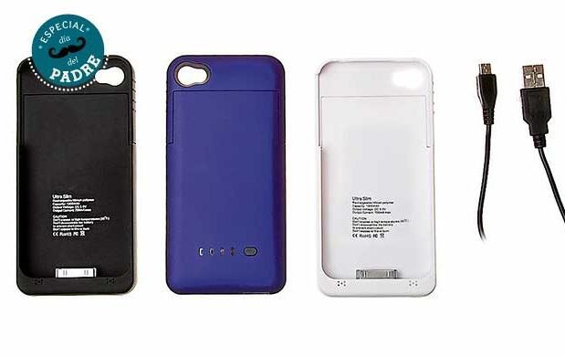 Funda con batería para iPhone