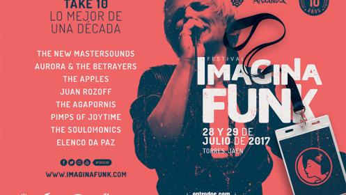 Entradas para Imagina Funk, 28 y 29 de julio en Sierra Magina