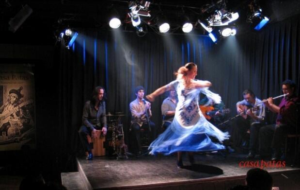 Vive el espectáculo Flamenco con una consumición en Madrid
