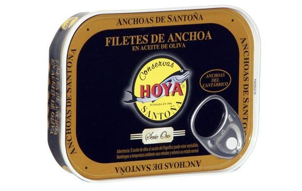 Anchoas y bonito de Conservas Hoya