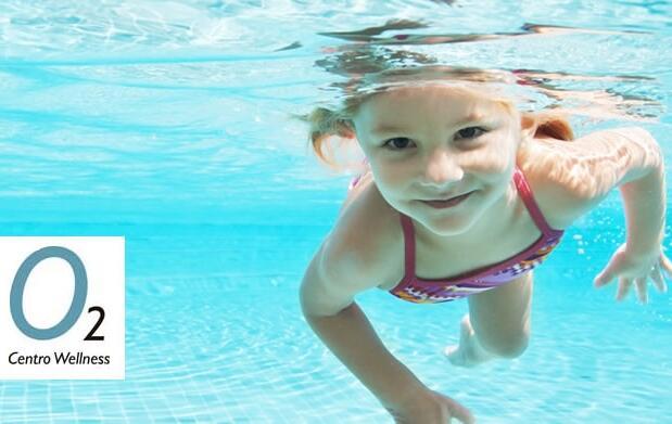 Curso de natación infantil