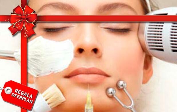 Radiofrecuencia facial y mascarilla
