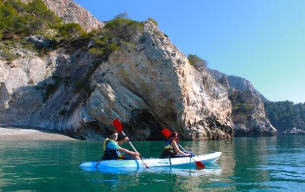 Excursión martítima en KayaK por sólo 15 €