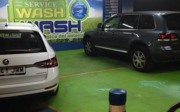 Lavado manual interior o exterior de vehículo