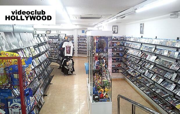 10 alquileres de DVD o BlueRay
