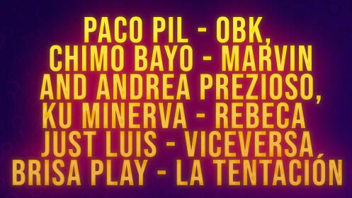 Festival 90's Granada, 7 marzo