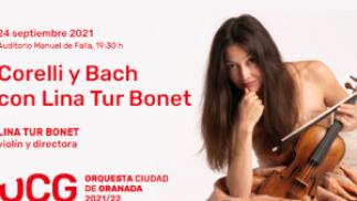 OCG: Bach y Corelli con Lina Tur Bonet, 24 septiembre