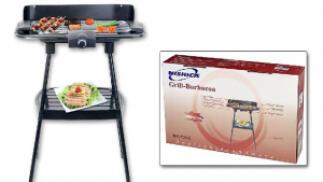 Barbacoa Grill Eléctrica con patas de 2000W por 20,90€. Envío Gratis