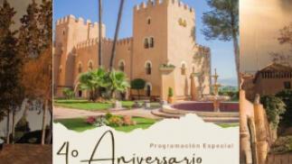 Castillo de Lachar: Entrada Especial 4º Aniversario. Visita Guiada + Espectáculo Cetrería 1 Agosto
