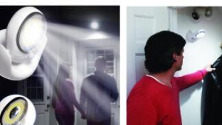 Luz LED con sensor de movimiento y giro de 360º, por 5,90€. Envío Gratis