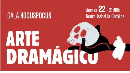 Gala internacional de Magia, 22 noviembre