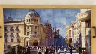 Bandeja Mosaico Puerta Real