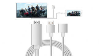 Adaptador de HDMI para iPhone y iPad