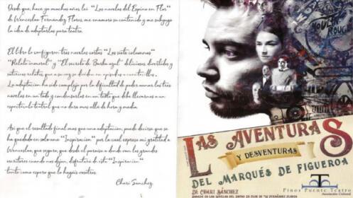 Entrada doble Las aventuras y desventuras del Marqués de Figueroa, 15 diciembre