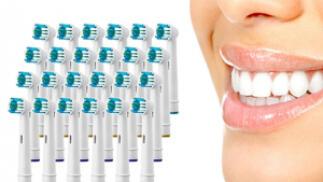 Recambios de cepillo de dientes compatibles con oral B