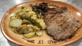Menú gourmet en Los Castaños