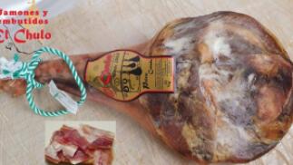 Paleta Gran Reserva de 4,5kg  + Queso de cabra + lote ibéricos + vino tinto ecológico