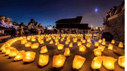 Almuñécar, concierto 1 piano y 200 velas, 13 de agosto