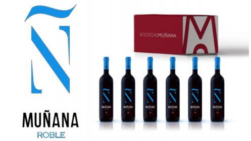Vino Muñana Roble: 6 botellas