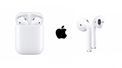 Apple AirPods con estuche de carga