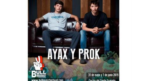 Altavoz bluetooth + abono Bull Music Festival Granada, 31 de mayo y 1 de junio