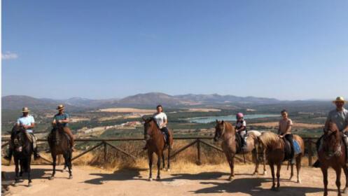 Paseo a caballo para 2 personas 2 horas por paraje natural