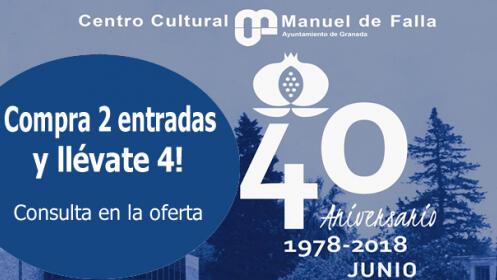 Obras de Manuel de Falla: compra 2 entradas + 2 de regalo