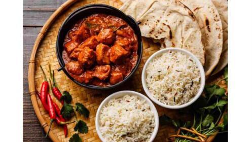 Menú de comida hindú para 2 con entrantes + principales + postres + bebidas