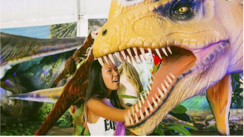 Dinosaurs Tour ¡Dinosaurios a tamaño real! del 18 al 26 de enero