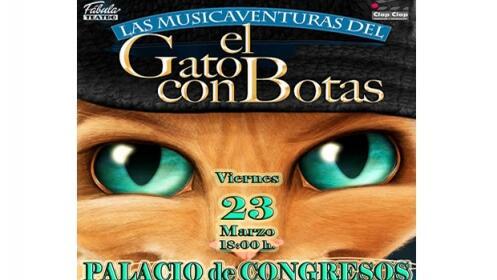 Entradas Las Musicaventuras de El Gato con Botas, 23 marzo