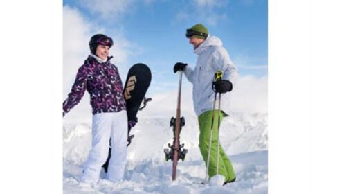 Reparación + encerado de esquí o snowboard