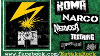 Estaka Rock con Narco y Koma, 27 julio en Jódar