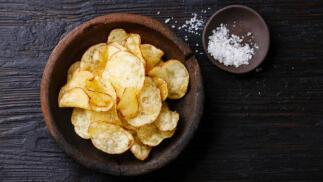 Chips Gourmet de Aove y Trufa...(7 bolsas de 120g y 200g)