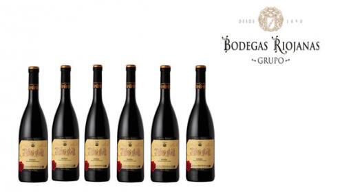 Pack de 6 vinos Monte Real Reserva 2014